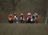 Apuestas de caballos en el hipódromo de Pontrefact, 14 de agosto